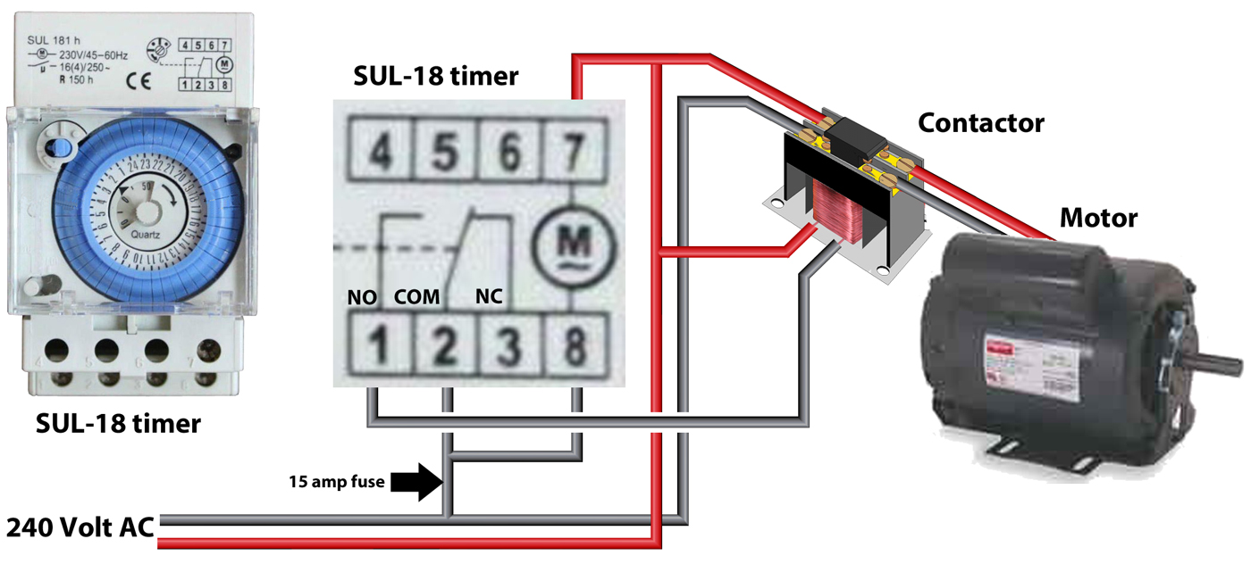 SUL 18 timer large how to wire dt 1440 timer swimming pool timer wiring diagram at edmiracle.co