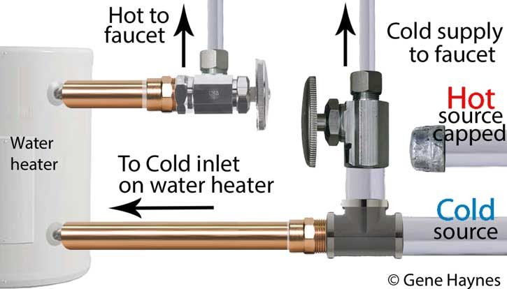 Hook up 2 hot water heaters