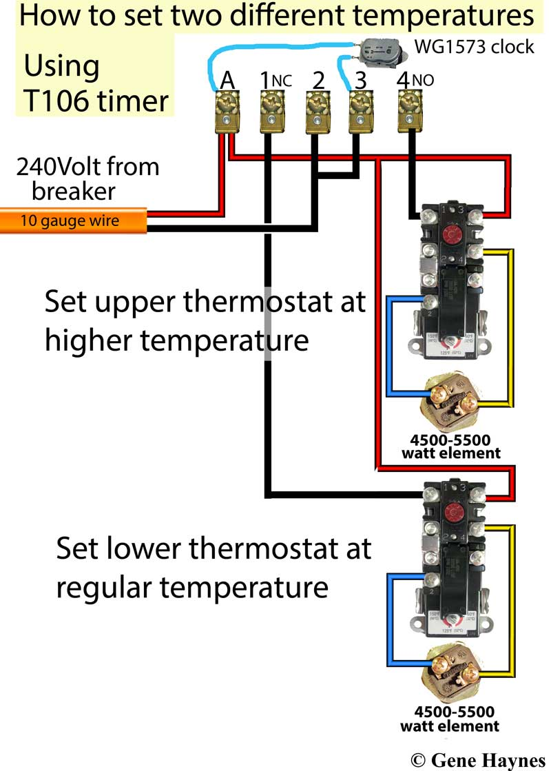 How To Wire T106 Timer Intermatic T101 Wiring Diagram Larger Image
