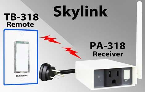 Skylink remote control countdown timer