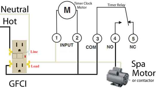 Spa wiring 550 how to wire timers Difference Between Ground and Neutral at gsmx.co