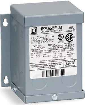 Square D transformer 300 convert 240 volt to 120 volt without neutral wire  at soozxer.org