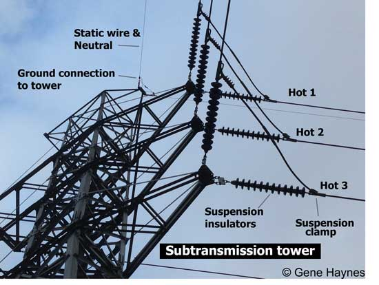 subtransmission tower