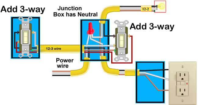 Add 3-way switch