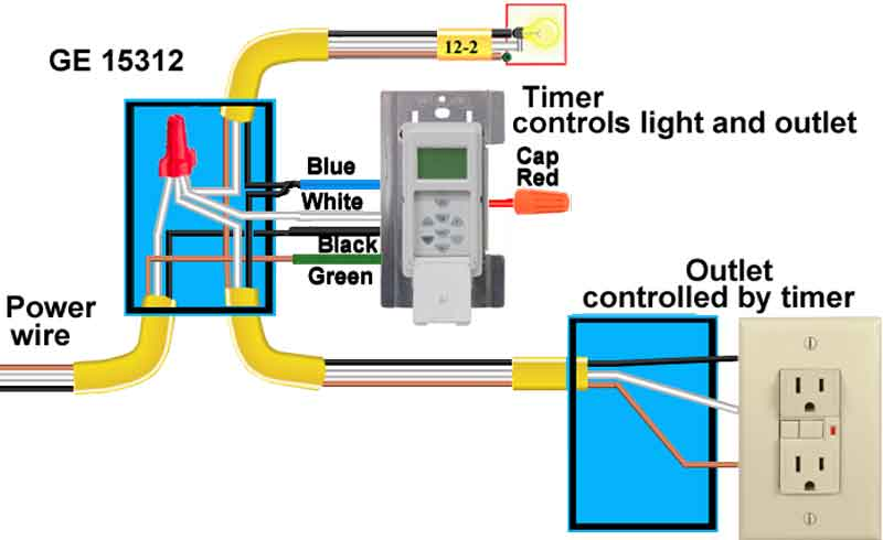 light switch timer wiring wiring library u2022 vanesa co rh vanesa co install a light timer replacing a timer light switch