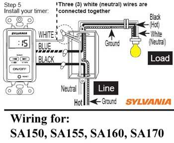 Sylvania wiring