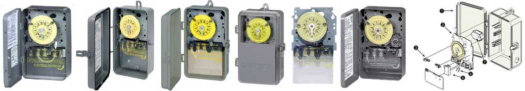 Intermatic T100 series timer