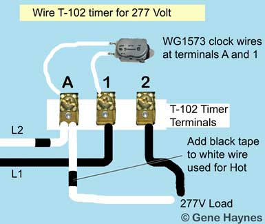 Intermatic T102 wiring
