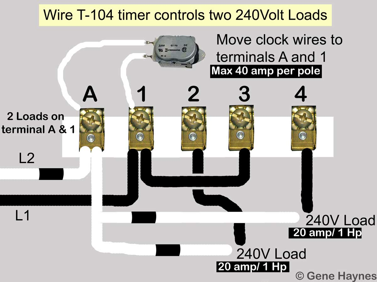 move motor leads to terminals a and 1  turning off 1 hot wire will turn off  240volt circuit  read difference between 120volt and 240volt