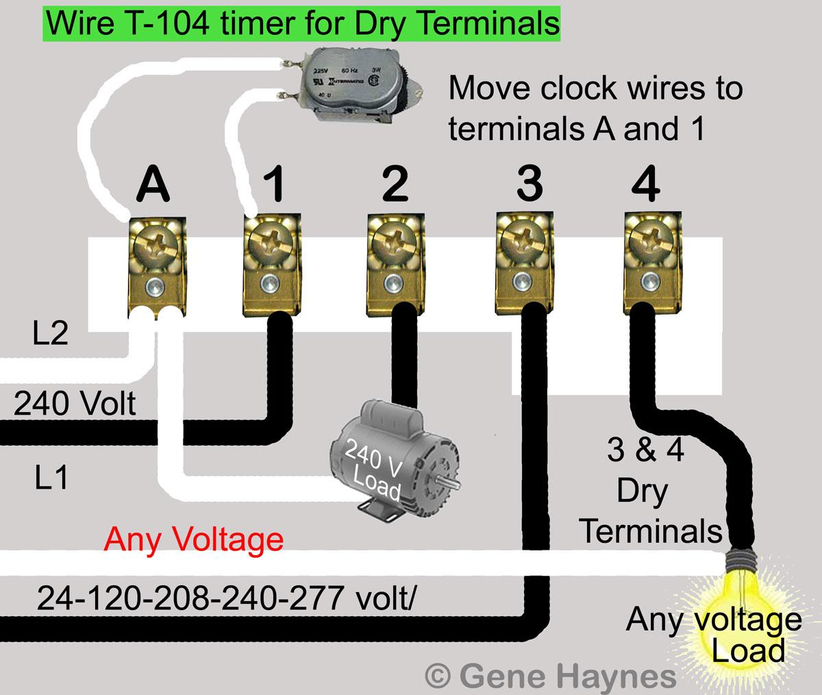 T 103 Timer Wiring - Wiring Diagram