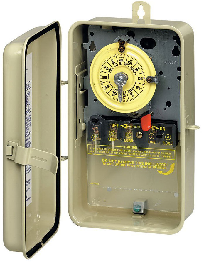 intermatic t100 series timers with parts manuals and wiring rh waterheatertimer org