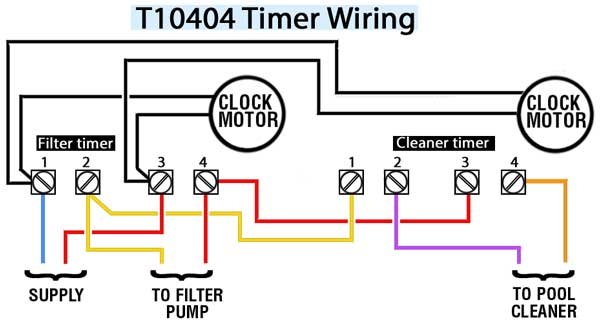how to wire intermatic t10404r rh waterheatertimer org
