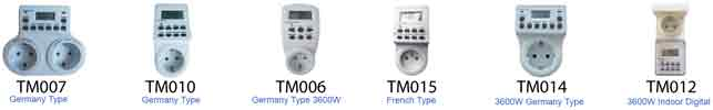 TM series timers