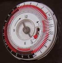 Tork TU clock