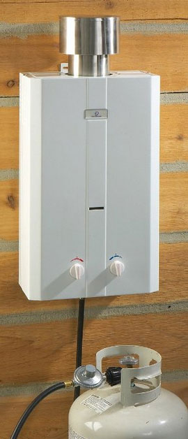 Tent city usa tankless water heater