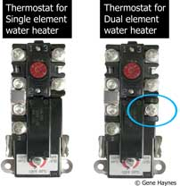 Thermostat single dual 205 how to wire water heater thermostat water heater wiring diagram dual element at beritabola.co