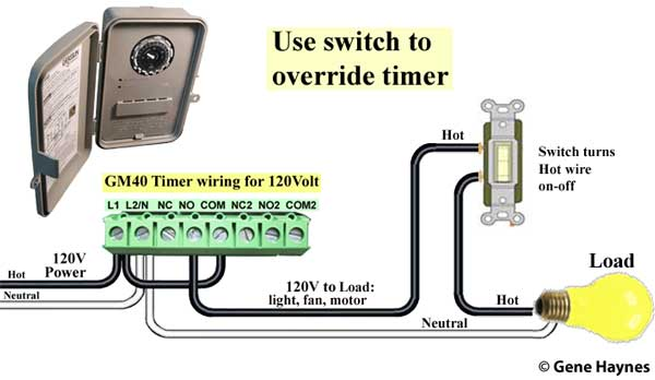 Timer and switch