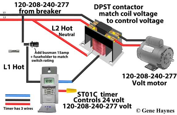 240 volt contactor wiring diagram 240 image wiring 240 volt timer wiring diagram 240 home wiring diagrams on 240 volt contactor wiring diagram