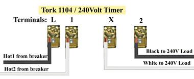 Tork 1104 wiring