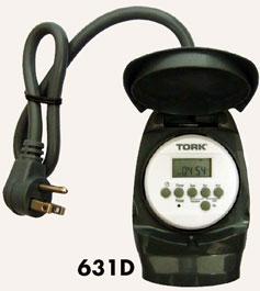 Tork 631D outdoor timer