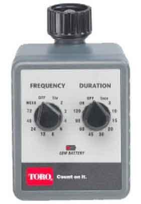 Toro zero pressure rain barrel timer