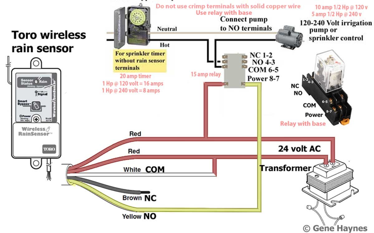 Irrigation Wiring Diagram from waterheatertimer.org