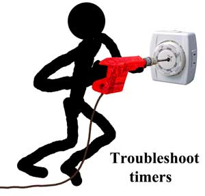 troubleshoot timer