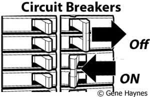 Reset circuit breaker