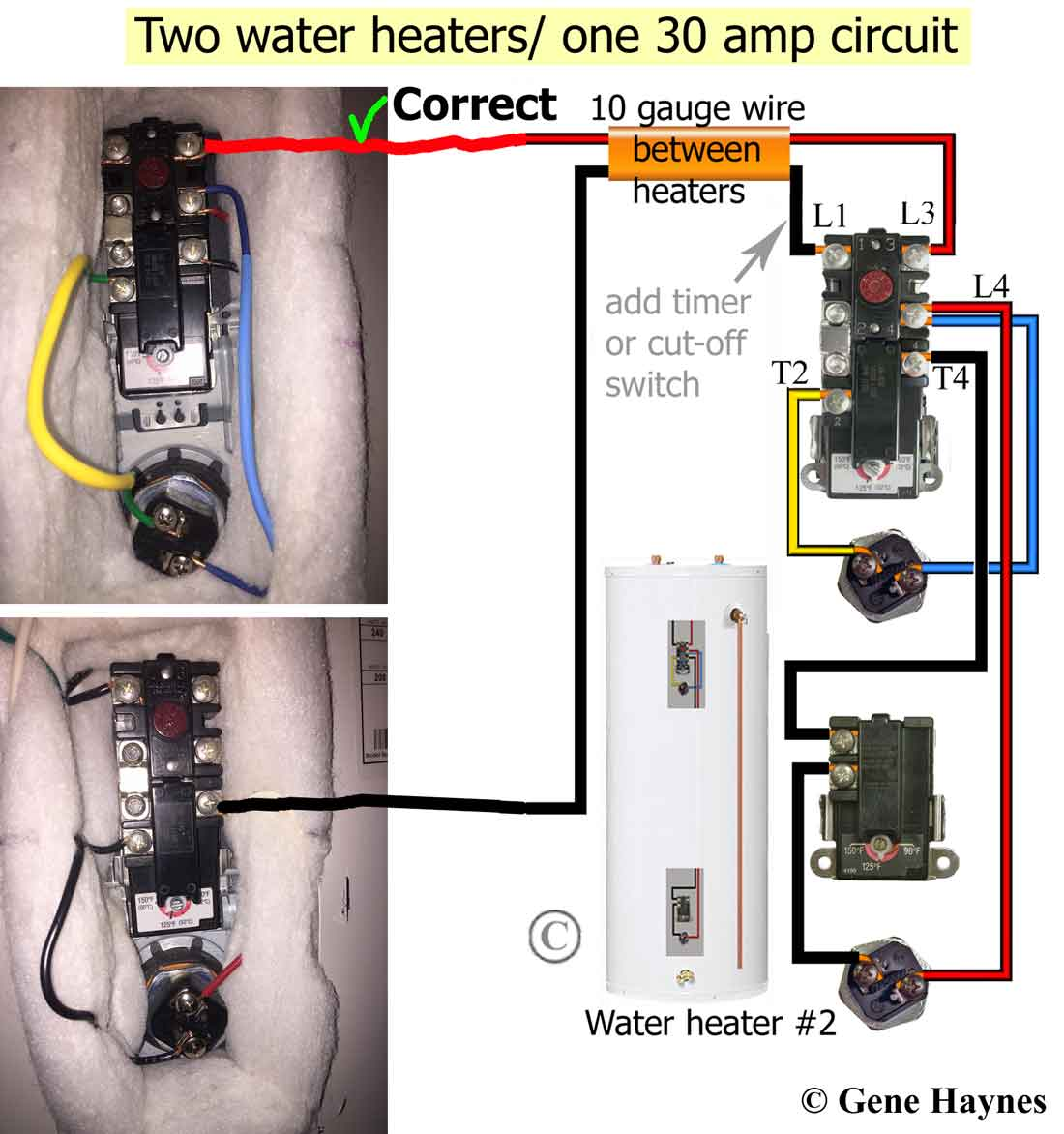 Water Heater Typical Electric Water Heater Construction Wiring Diagram