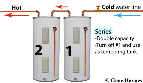 Can You Hook Up 2 Water Heaters