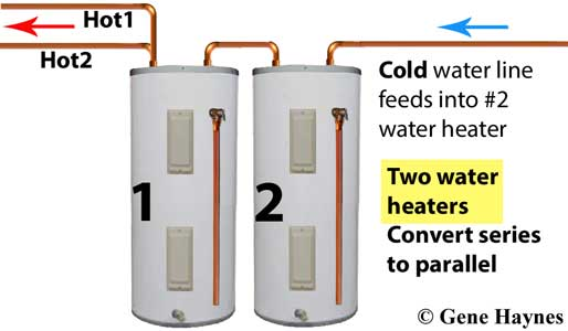 Two water heaters