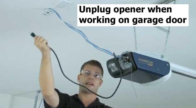 Unplug opener