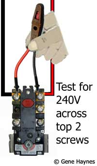 Test electricity