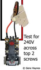 SOLVED: Not getting 240 volts to lower element- have - Fixya on