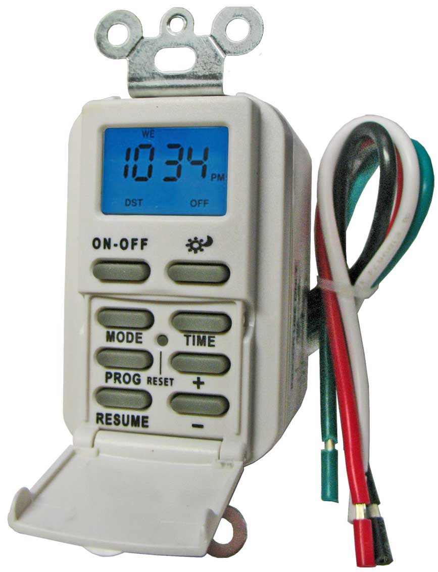 How to install and program Utilitec LW60419 Timer and TM-029 timer