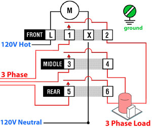 3 Phase Switch Wiring - Wiring Diagrams •