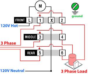3-phase timer