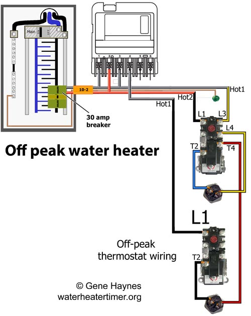 WZ4004 off peak water heater