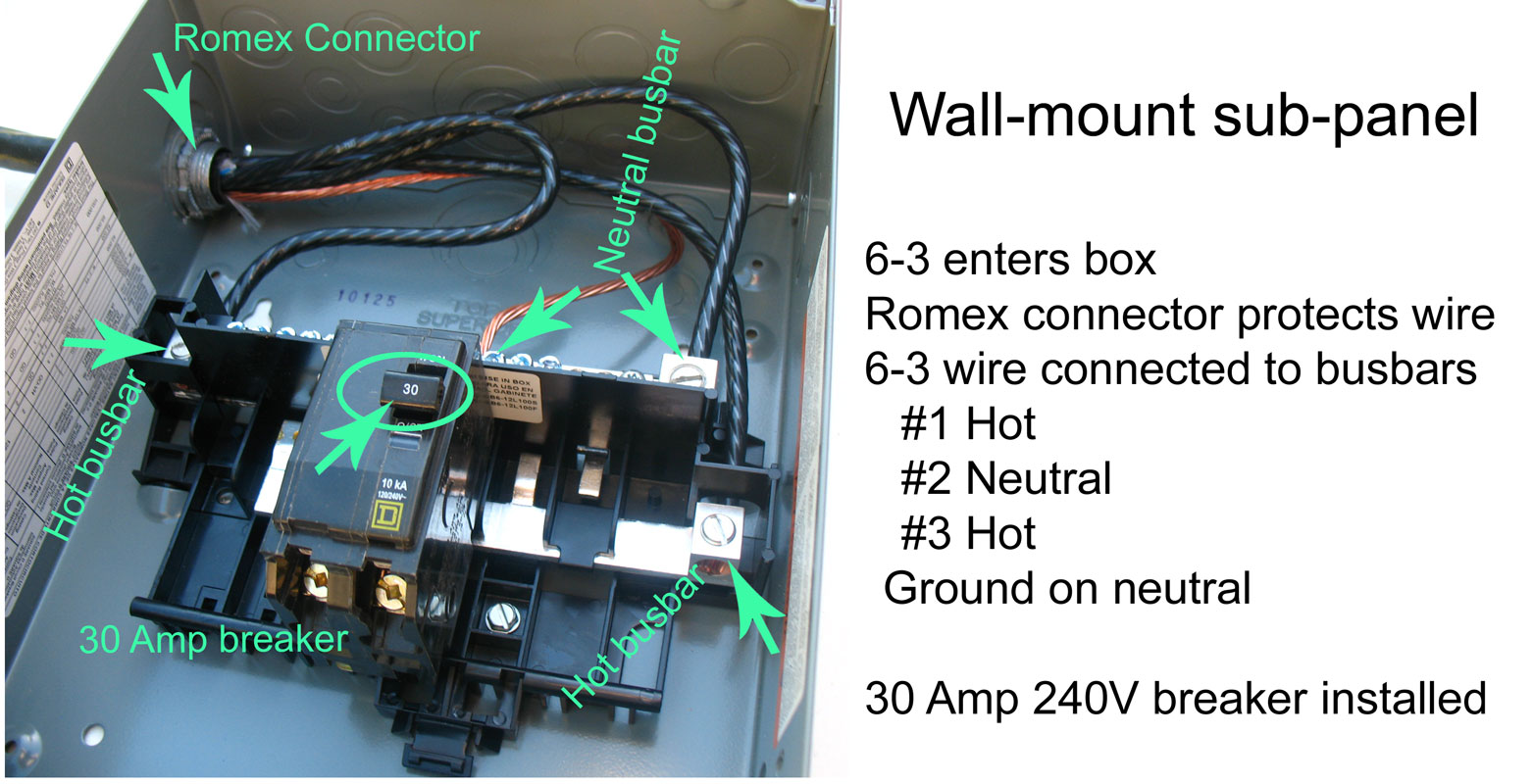 Wiring A Subpanel With 1 Hot Electrical Diagrams To Circuit Breakers How Wire Siemens Sub Panel From Main