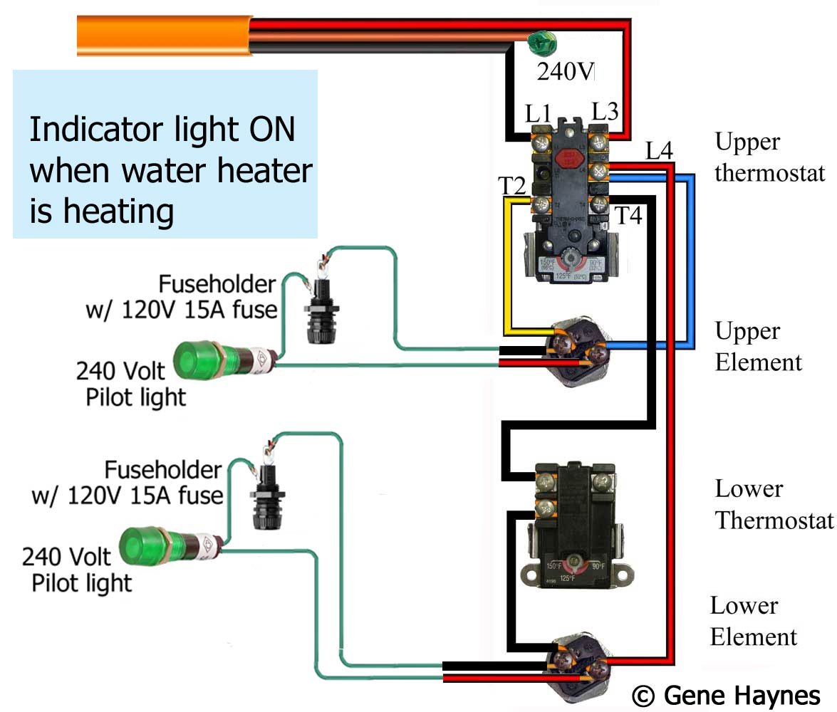 Pilot Light Wiring Diagram Diagrams 3 Way Fog Switch How To Wire Water Heater Rh Waterheatertimer Org Single Pole