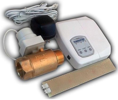 automatic water heater shut off valve