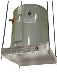 water heater stand