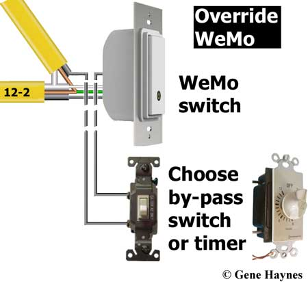 Override WeMo switch