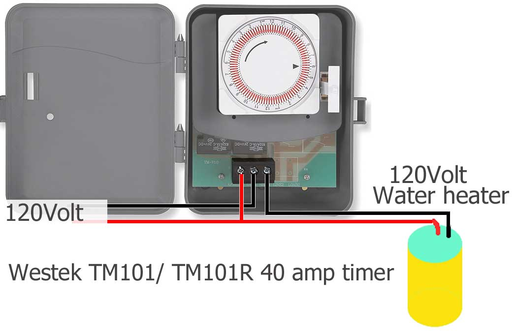 compare box timers, Wiring diagram