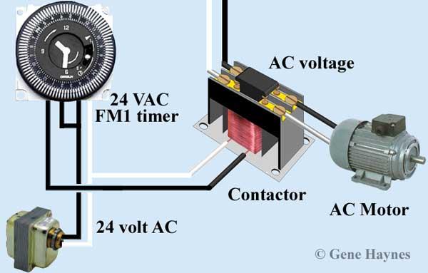 FM-1 24 volt timer