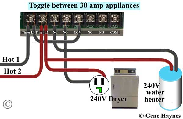 how to wire ge 15207 timer rh waterheatertimer org ge pool timer wiring diagram ge timer switch wiring diagram