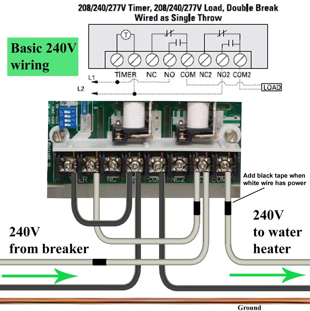 Wire GE timer update2 1000 how to wire ge 15087 timer sprinkler timer wiring diagram at soozxer.org