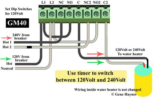 Grasslin Defrost Timer Wiring Diagram from waterheatertimer.org