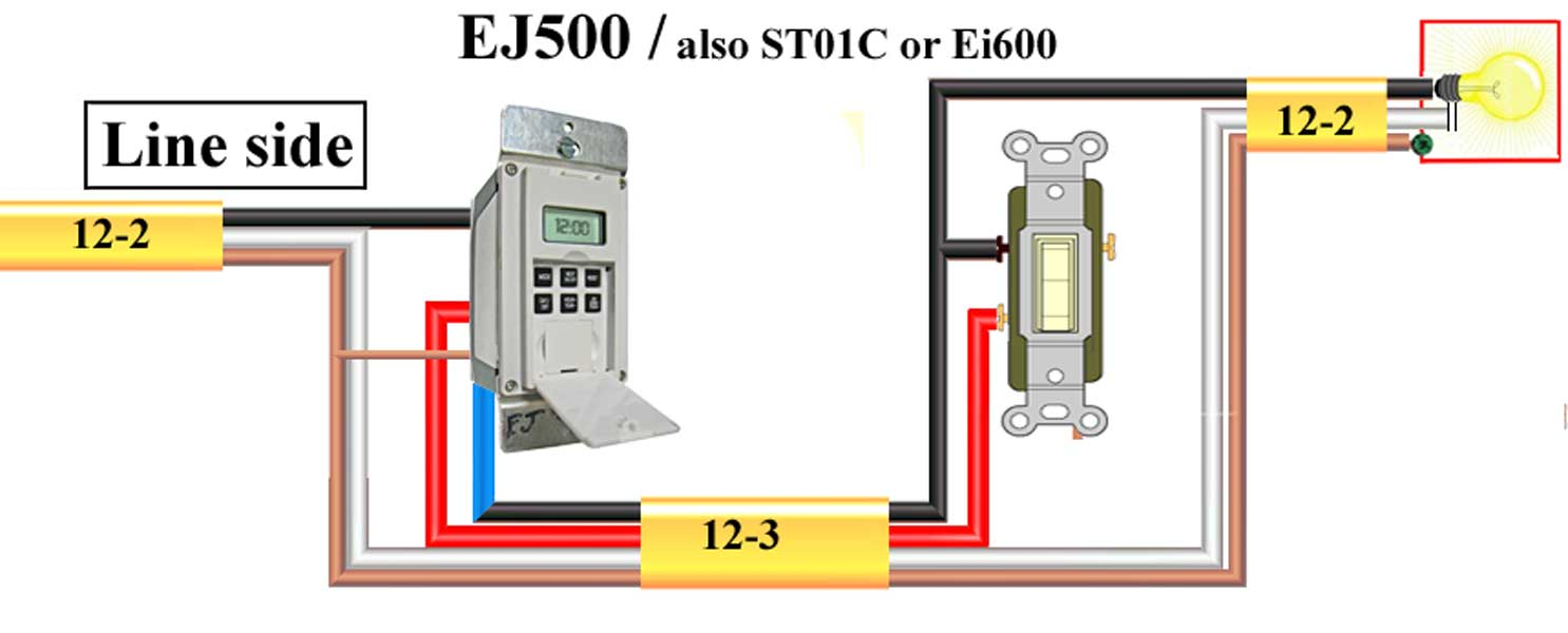 Ej 500 Wiring Diagram Great Installation Of Intermatic Switch Ej500 Third Level Rh 16 8 12 Jacobwinterstein Com Residential Electrical