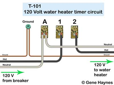 how to wire t101 timer rh waterheatertimer org